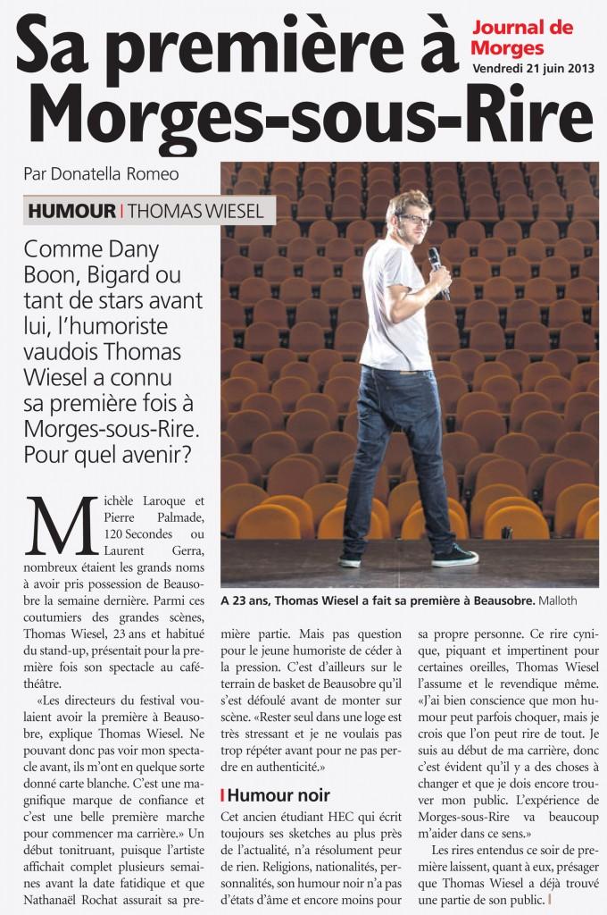 Le Journal de Morges